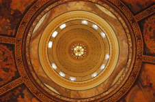 Capitol Dome & Chandelier, Interior